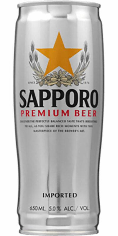 Sapporo Can 650ml