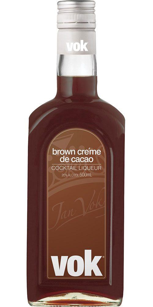 Vok Creme De Cacao Brown 500ml