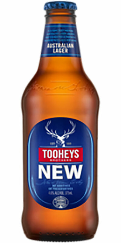Tooheys New stubby 375ml