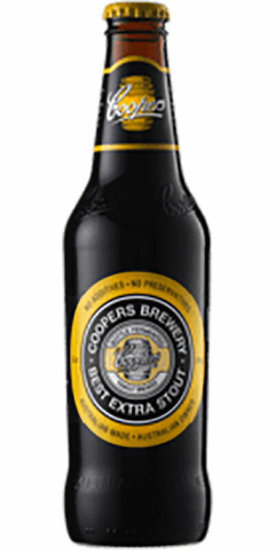 Coopers Stout stubby 375ml