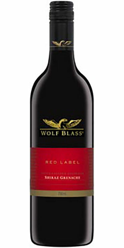Wolf Blass Red Shiraz Grenache 750ml