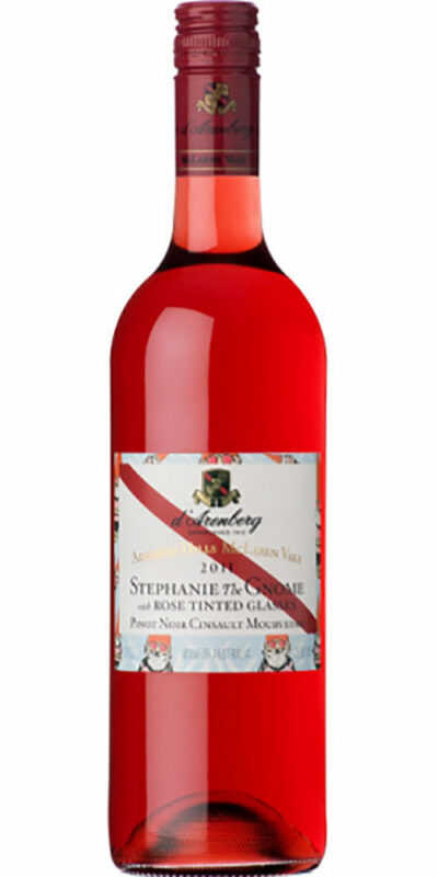 d'Arenberg Stephanie The Gnome With Rosé Tinted Glasses 750ml