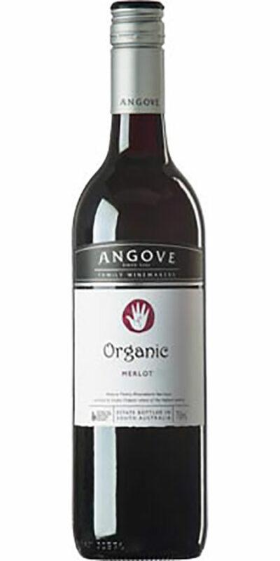 Angove Organic Merlot 750ml