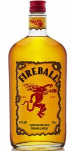 Fireball Cinnamon Whiskey Liqueur 1
