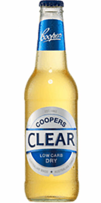 Coopers Clear Stubby 355ml