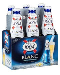 Kronenbourg 1664 Blanc Bottles 330mL
