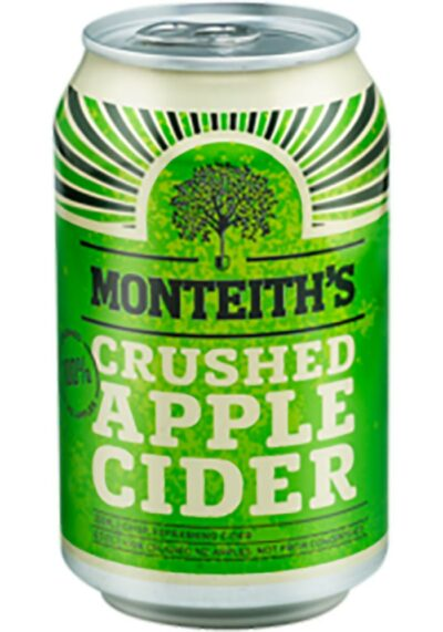 Monteiths Apple Cider Can 10 packs