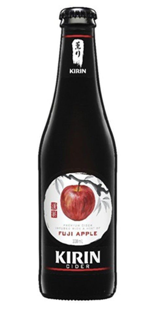 kirin fuji apple cider stubbies
