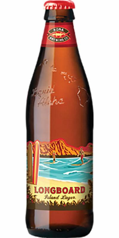 Kona Longboard Lager Bottle 330ml