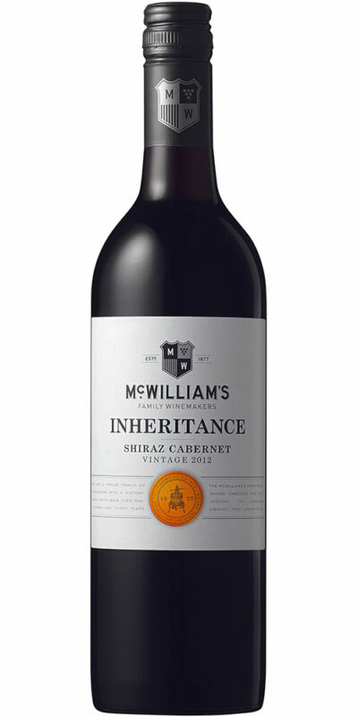 McWilliams Inheritance Shiraz Cabernet 750ml