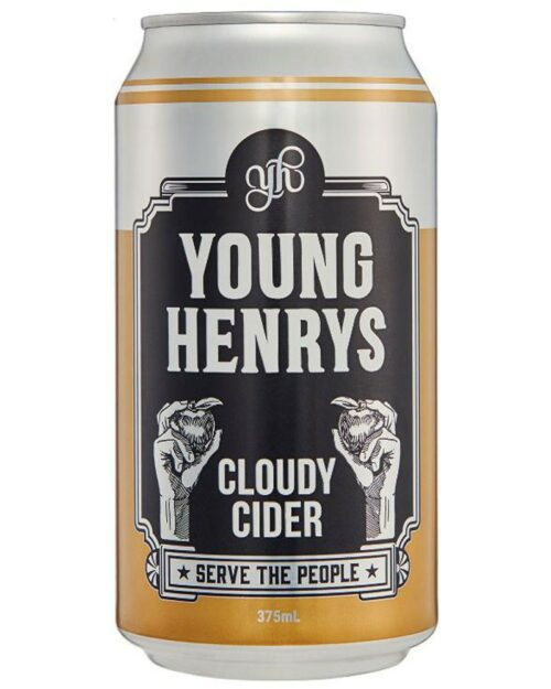 Young Henrys Cloudy Cider Cans 375mL