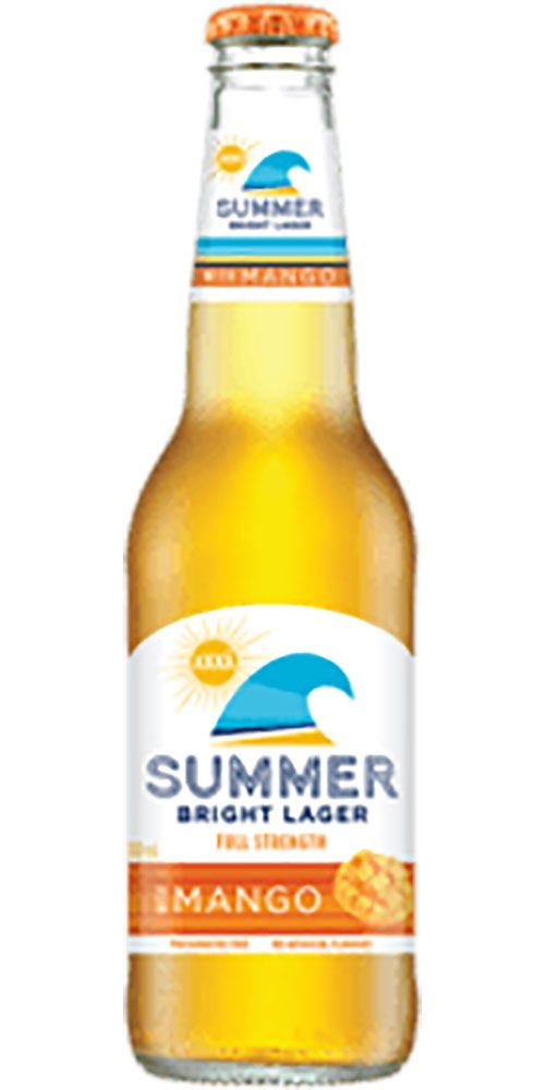 XXXX Summer Mango Bottle 330ml