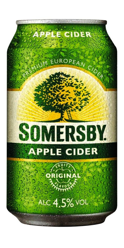 Somersby Apple Cider Cans 10 Pack 375mL