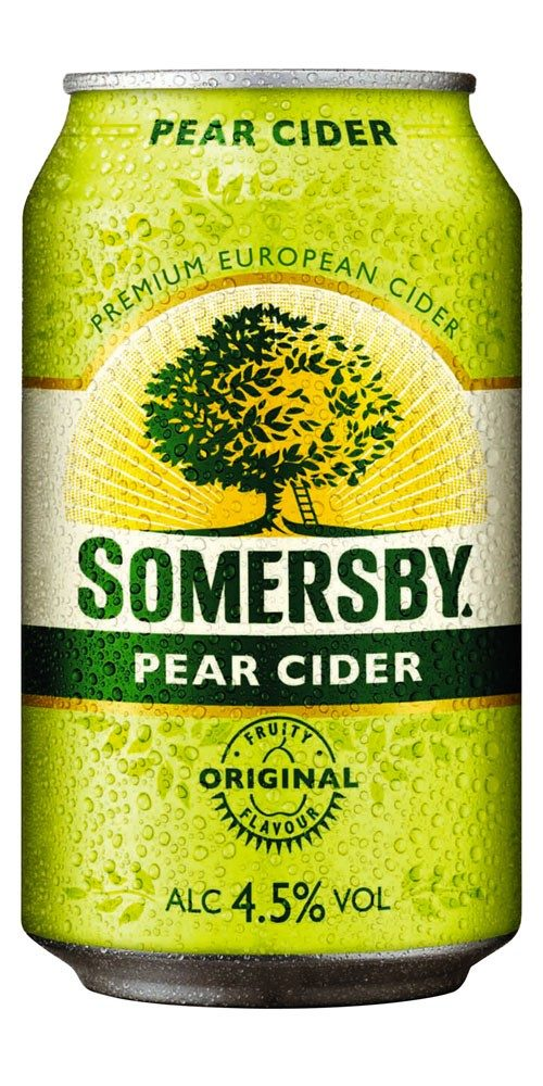 Somersby Pear Cider Can 375ml (10 pack)