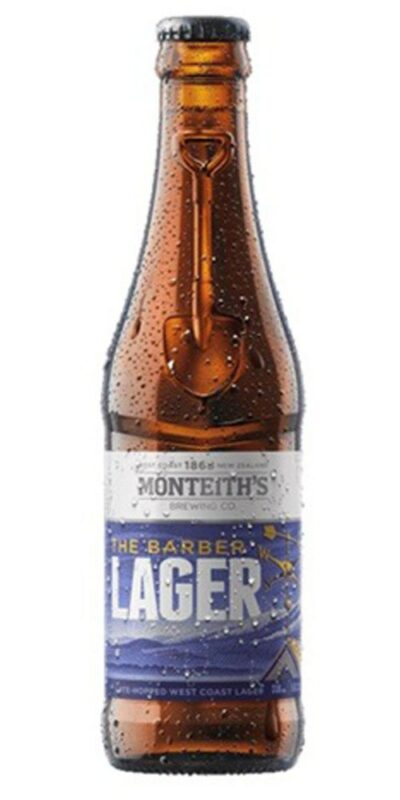 Monteith's Barber Lager