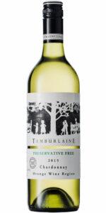 Tamburlaine Preservative Free Chardonnay 750ml