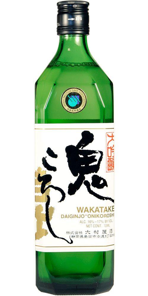 Wakatake Junmai Dragon Slayer Saké