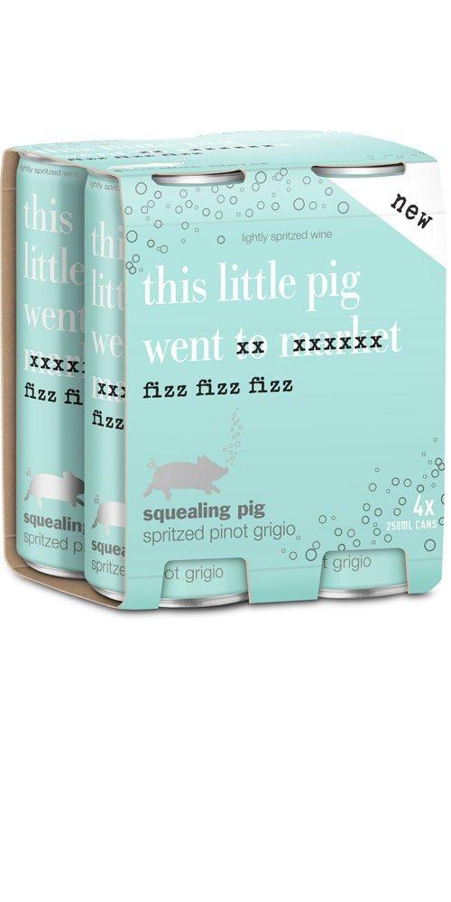 squealing pig spritzed pinot grigio