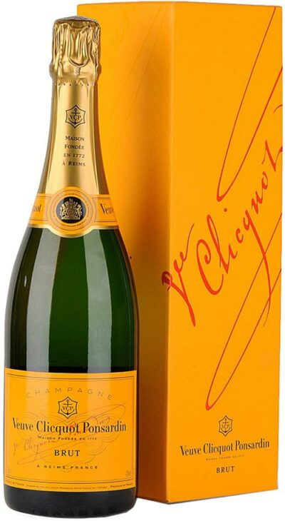 Veuve Clicquot Non Vintage Gift Boxed 750ml