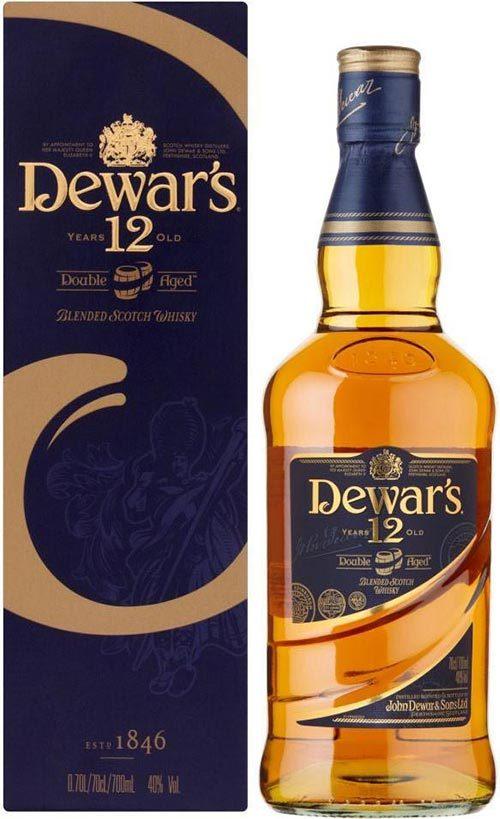 Dewars 12 Year Old Scotch 700ml