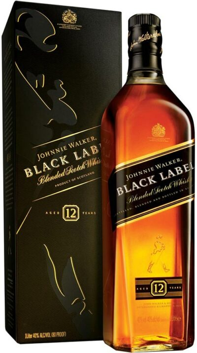 Johnnie Walker 12 Year Old Black Label 700ml