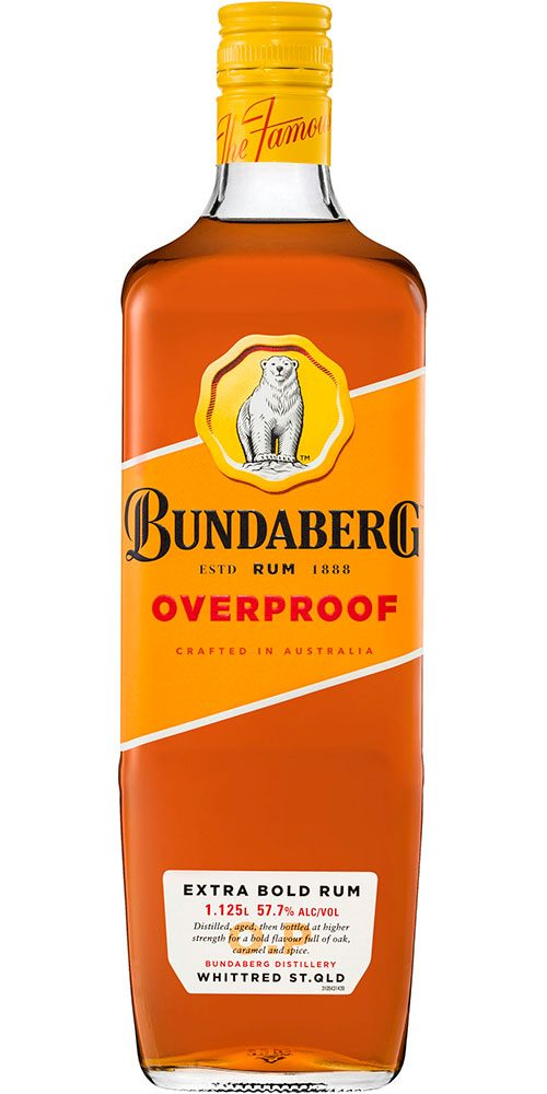 Bundaberg Overproof Rum 1125ml