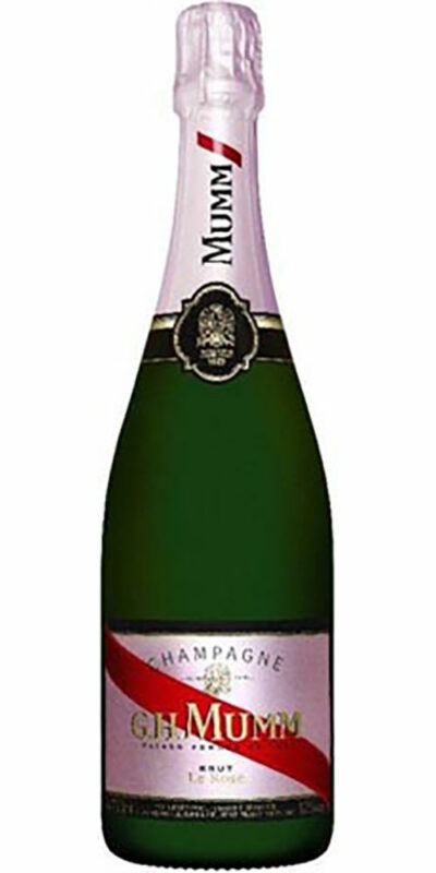 G.H.Mumm Cordon Rouge Rose Non Vintage750ml