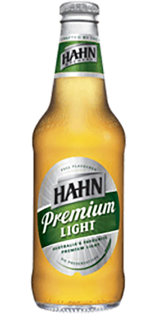 Hahn Light stubby 375ml