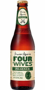 James Squire Four Wives Pilsner Bottle 345ml