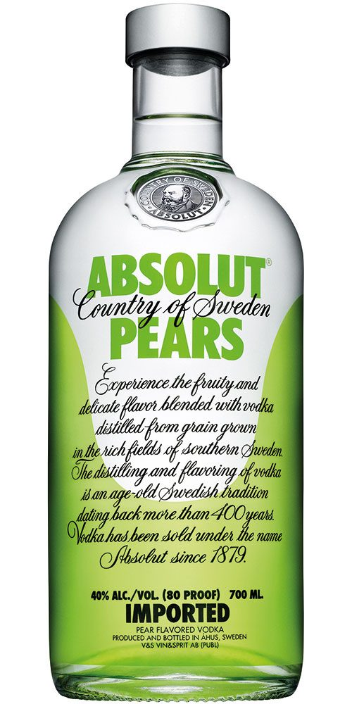 Absolut Pear 700ml