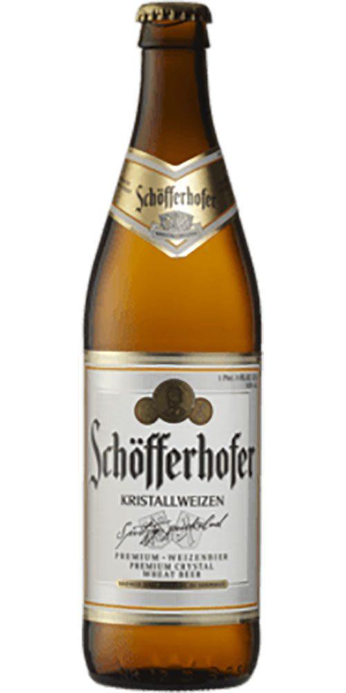 Schöfferhofer Kristallweizen Beer 500mL