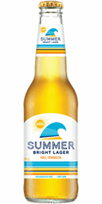 XXXX Summer Bright Lager Bottle 330ml