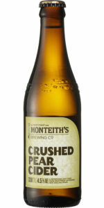 Monteiths Pear Cider Stubbies Carton 330ml