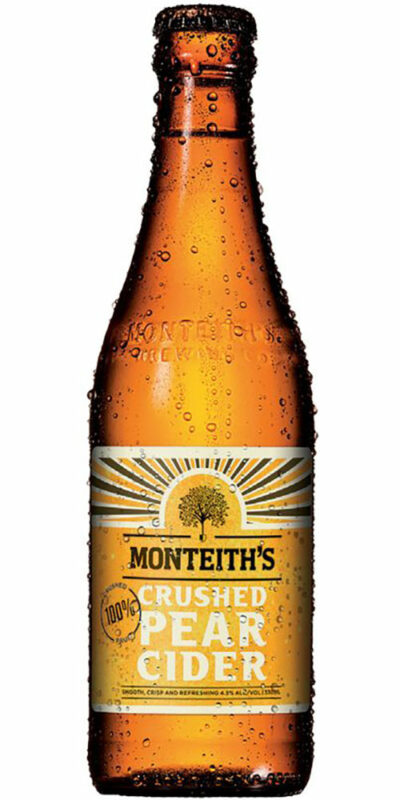 Monteiths Pear Cider Stubbies