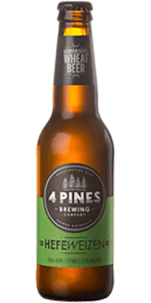 4 Pines Hefeweizen Bottle 330ml