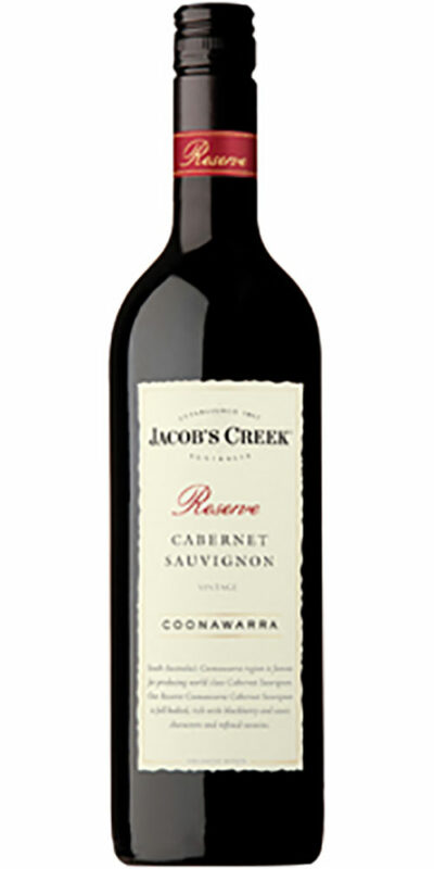 Jacob's Creek Reserve Coonawarra Cabernet Sauvignon 750ml