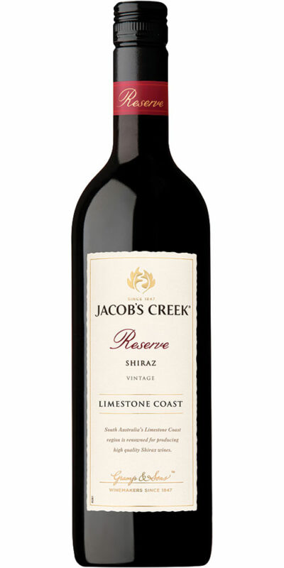 Jacob's Creek Reserve Limestone Coast Shiraz 750ml