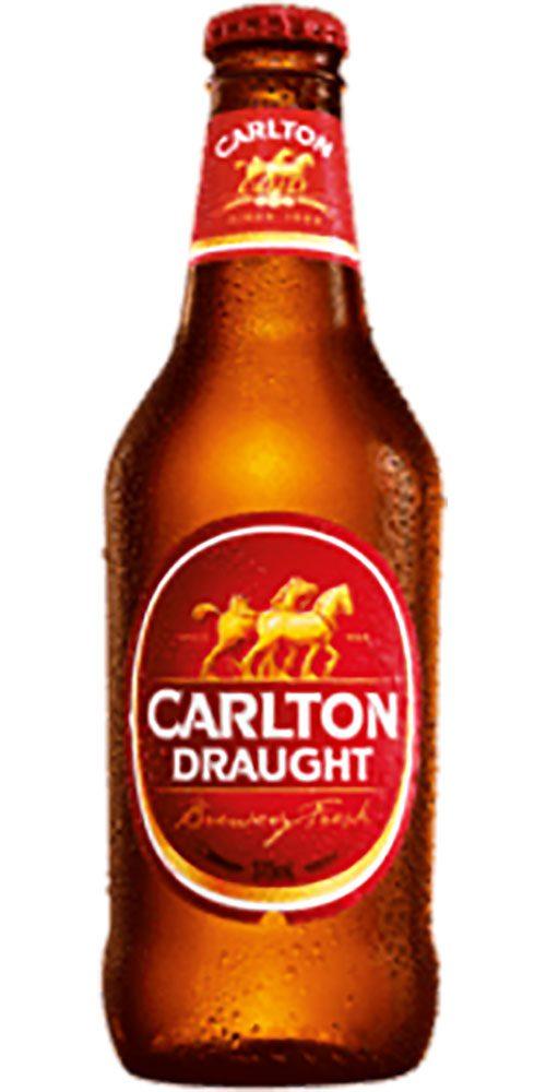 Carlton Draught stubby 375ml