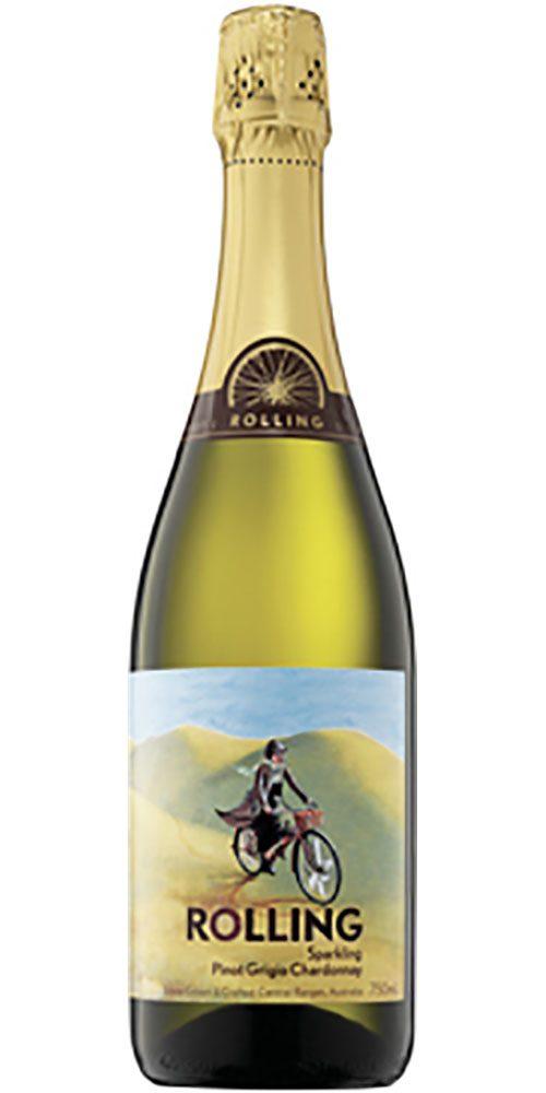 Rolling Sparkling Pinot Grigio Chardonnay 750ml