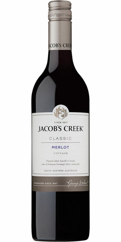 Jacob's Creek Classic Merlot 750ml 1