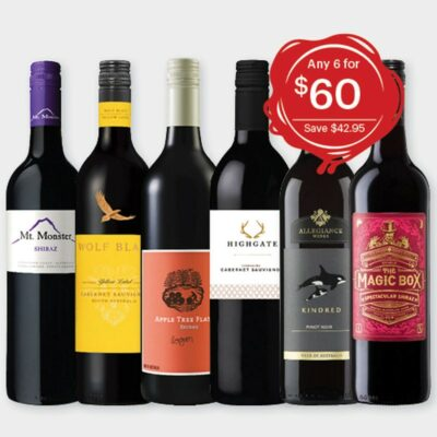 Bayfields Red Festive Wine Pack