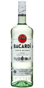 Bacardi Carta Blanc 1000ml