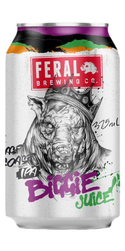 Feral Brewing Biggie Juice IPA