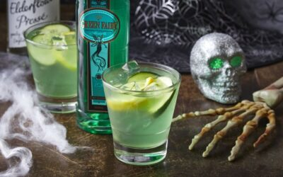 The Bayfield's Green Eyed Fairy Halloween Cocktail