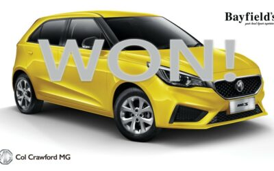 MG Car Competition Winner Announced