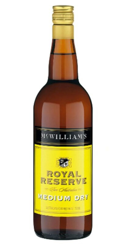 McWilliams Royal Reserve Medium Dry Sherry 750ml
