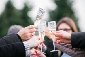 Champagne courtesy Nik MacMillan